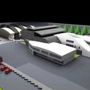 پروژه معماری دانشکده هنر و معماری
