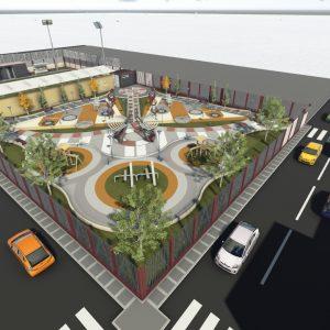 دانلود پروژه معماری پارک