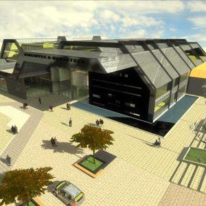 پروژه معماری موزه