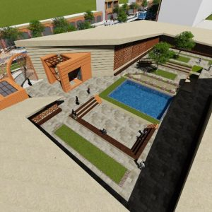 پروژه معماری گالری هنر
