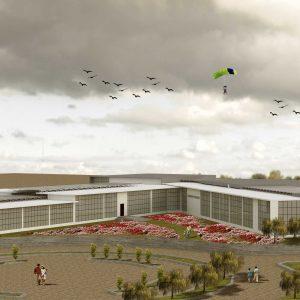 پروژه معماری درمانگاه عمومی