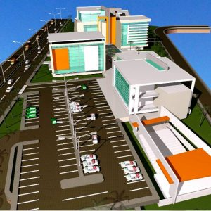 پروژه معماری دانشکده صدا و سیما