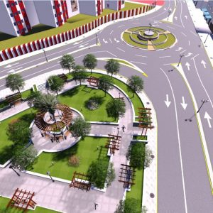 پروژه معماری پارک
