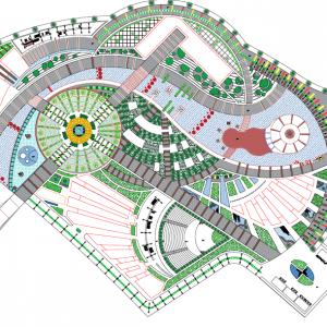 پروژه معماری دهکده سلامت