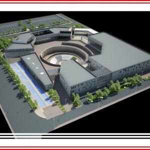 پروژه طراحی موزه علوم و فناوری