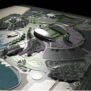 پروژه طراحی معماری تفریحی توریستی