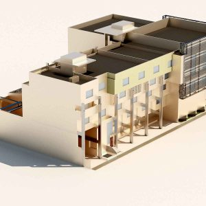 دانلود پروژه طراحی مجتمع اداری تجاری