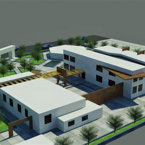 پروژه معماری هنرستان