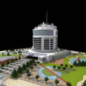 پایان نامه طراحی هتل 5 ستاره 13 طبقه