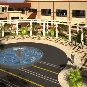 پروژه معماری مرکز خرید