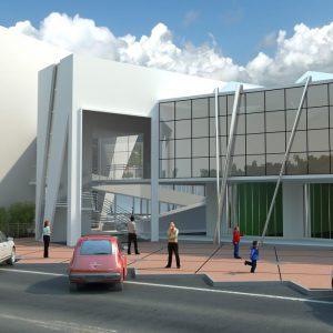 پروژه معماری تالار شهر