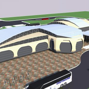 پروژه معماری ترمینال
