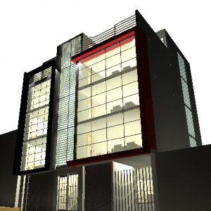 پروژه طراحی اپارتمان مسکونی