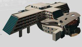 پروژه معماری هتل سه ستاره
