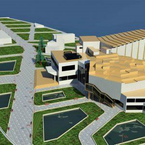 پروژه معماری طراحی سینما