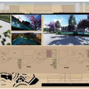 پروژه طراحی موزه سفال