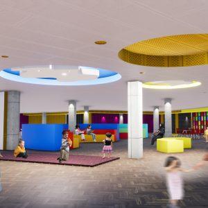 پروژه معماری فرهنگسرای کودک