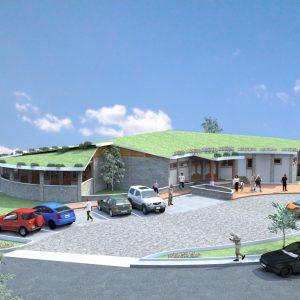 پروژه معماری رستوران