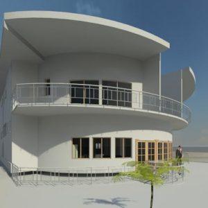 پروژه معماری طراحی ویلا