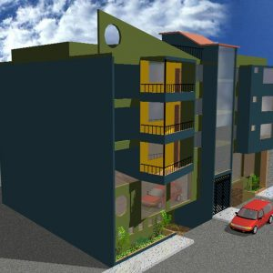 پروژه معماری مسکونی