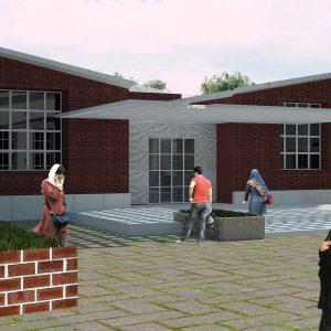 پروژه طراحی معماری فرهنگ و هنر