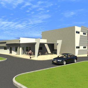 پروژه معماری بیمارستان