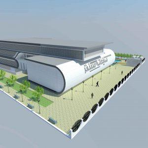 پروژه طراحی کتابخانه عمومی