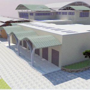پروژه معماری مرکز محله