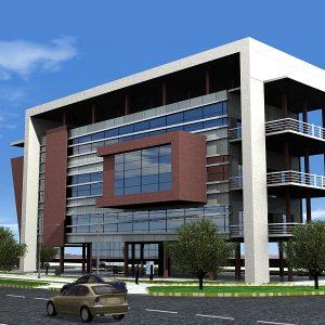 پروژه طراحی ساختمان شهرداری