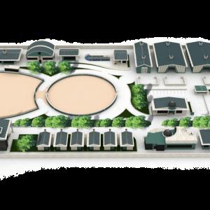 پروژه طراحی باشگاه سوارکاری