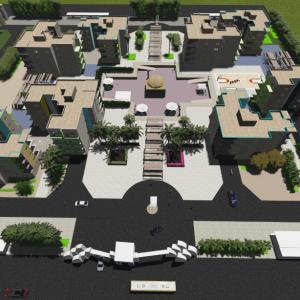 دانلود پروژه طراحی مجتمع مسکونی
