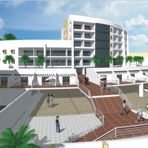 پروژه معماری طراحی هتل 5 ستاره