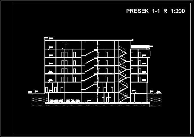 برش پروژه معماری